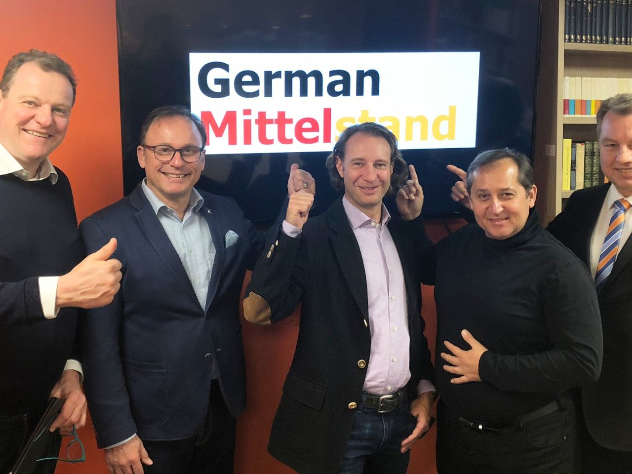 We go for it. Founding of German Mittelstand Network
